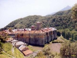 Ankunft im ersten Kloster