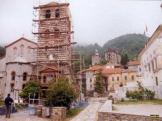Alter Turm in Karyes